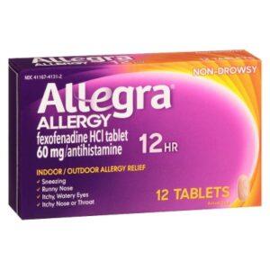 allegra again 12 tablets 1