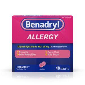 Benadryl 48 count