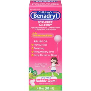 Benadryl kids