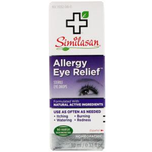 simi allergy eye