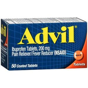advil 50 tablets