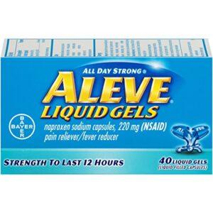aleve liquid 40 capsules 1