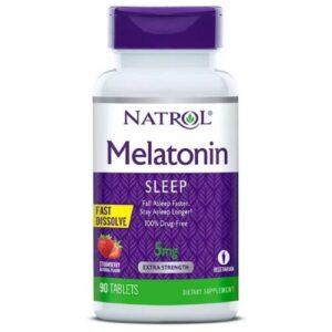 natrol melatonin 1.2